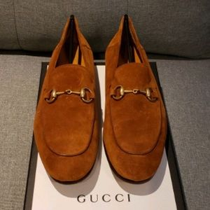 GUCCI Men's Suede Loafers